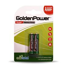 Golden Power GER03M Super Heavy Duty AAA Battery  Pack of 2